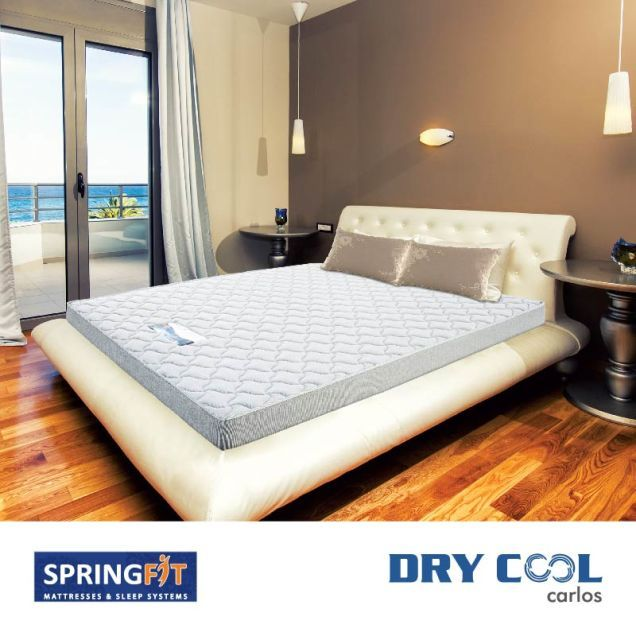 Buying mattress online can save both your time and energy. Instead of visiting showrooms, you can easily avail your selected mattresses just by a 'click'. When you are sure of your choice, just place your order securely online at affordable prices. We at sprinfit are offering spring mattresses online at market leading prices. Visit at www.springfitmattress.com and check our collection.