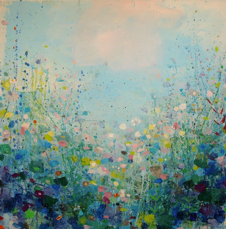 "Saatchi Art Artist: Sandy Dooley; Acrylic 2013 Painting ""Warm Breeze, Cool Shade (sold)"""