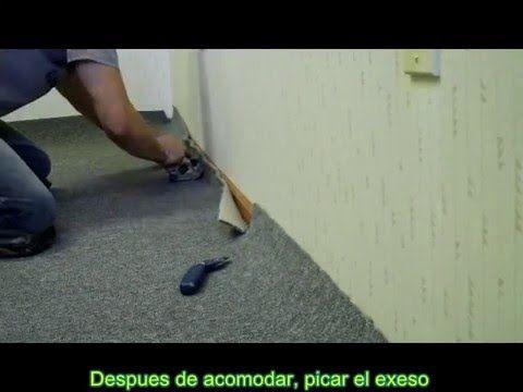 Instalador de pisos (Floor layer) Alfombra con Pega