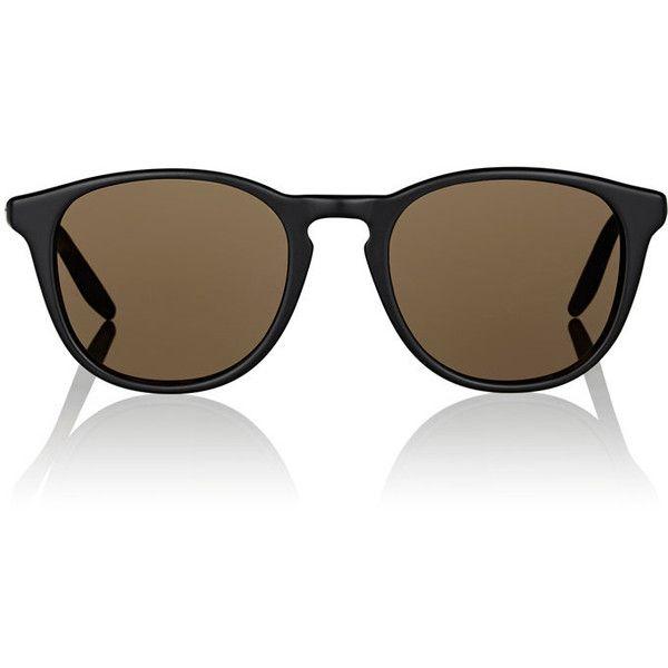 Barton Perreira Men's Plimsoul Sunglasses ($395) ❤ liked on Polyvore featuring men's fashion, men's accessories, men's eyewear, men's sunglasses, black, mens round sunglasses, mens vintage eyewear, mens sunglasses, mens eyewear and mens tortoise shell sunglasses