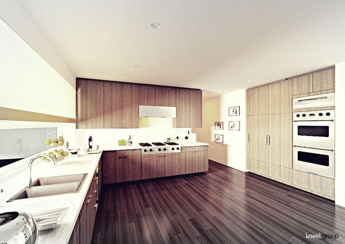 wooden kitchen (krakowska)
