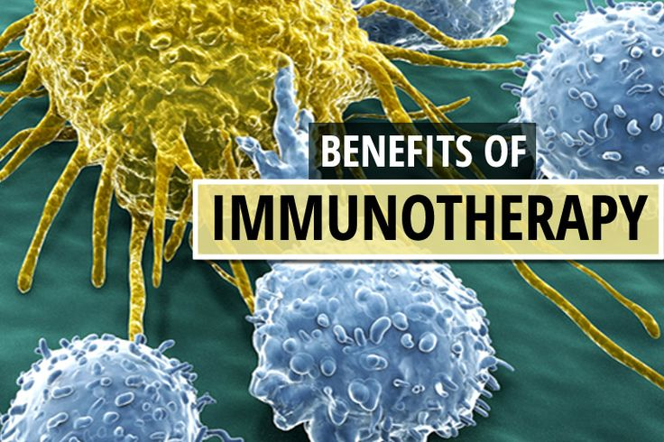 What are the benefits of immunotherapy? Chemotherapy, radiation therapy, and surgery are widely accepted as the standard treatments for cancer