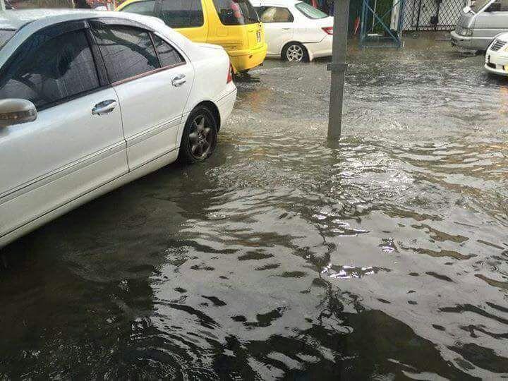 Flash Flood warning in effect- Hydromete office