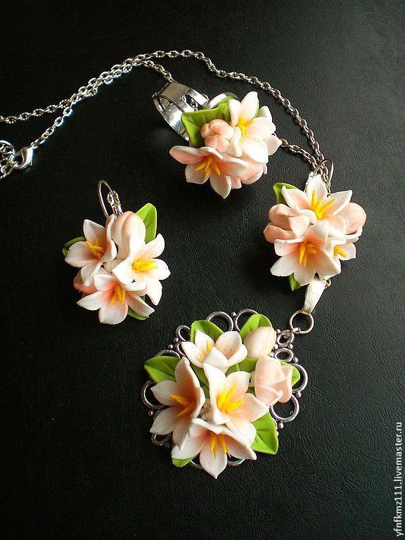 """Купить комплект """"ВЕСНА"""" - бледно-розовый, подарок, подарок девушке, подарок на 8 марта"""