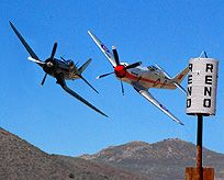Reno Air Races, held every September at Stead Air Base, Reno, NV