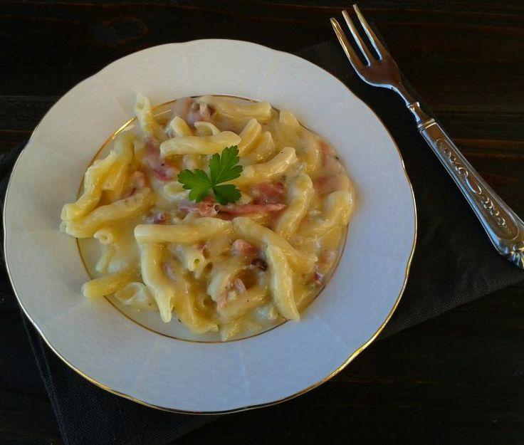 Pasta+con+gorgonzola+e+speck