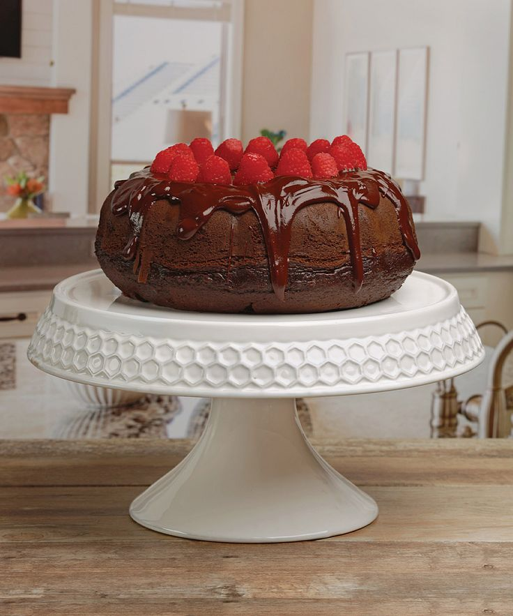 Awesome Embossed Honey Bee Cake Stand Only $14.99!