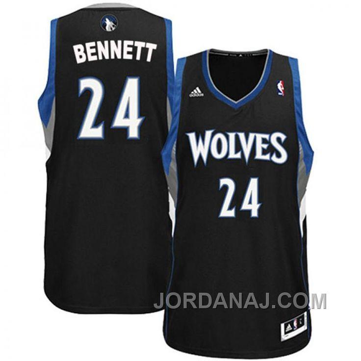 http://www.jordanaj.com/anthony-bennett-minnesota-timberwolves-24-revolution-30-swingman-alternate-black-jersey.html ANTHONY BENNETT MINNESOTA TIMBERWOLVES #24 REVOLUTION 30 SWINGMAN ALTERNATE BLACK JERSEY Only $89.00 , Free Shipping!