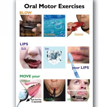 Oral Motor Exercises. To help strengthen muscles used for speaking.