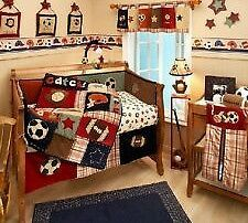 Sports Theme Crib Bedding On Pinterest Nursery Sets