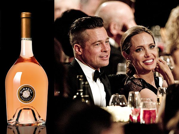 #Miraval Rosé, Brad Pitt & Angelina Jolie's #wine named best rosé in the world by Wine Spectator