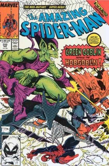 Amazing Spider-Man Volume 1, Issue 312.  Cover by Todd McFarlane.