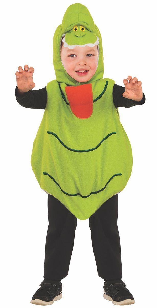 Ghostbusters Slimer Ez-on Romper Toddler Costume