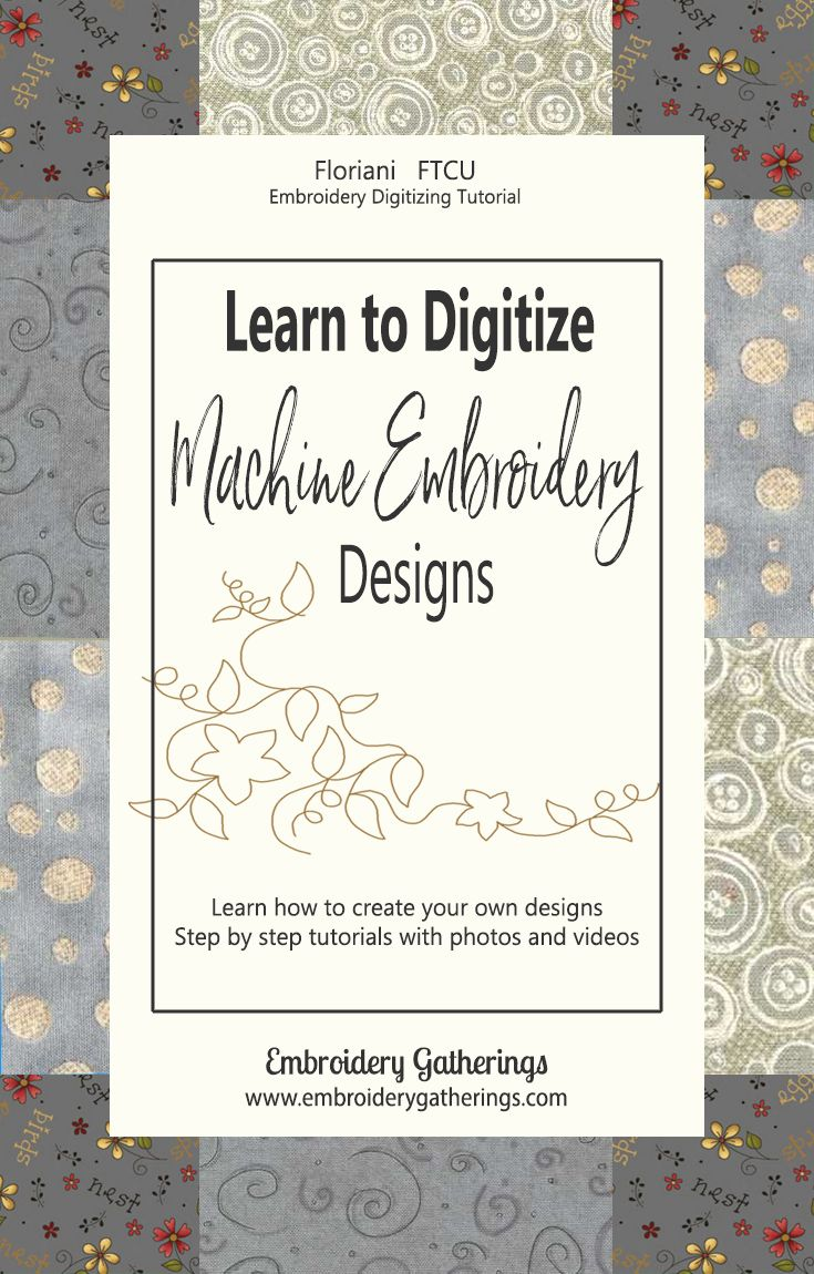 learn to digitize machine embroidery