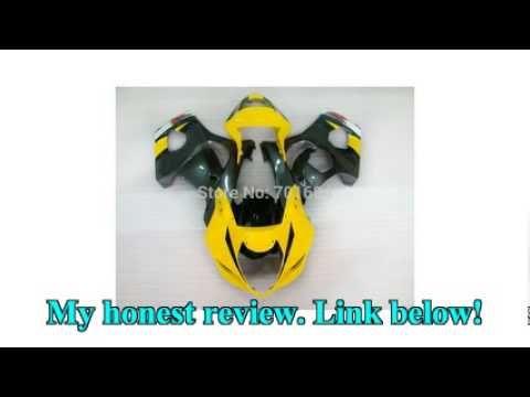 nice Fashion HOT Yellow Injection Mold Bodywork Fairing For SUZUKI GSXR600-750 K4 04