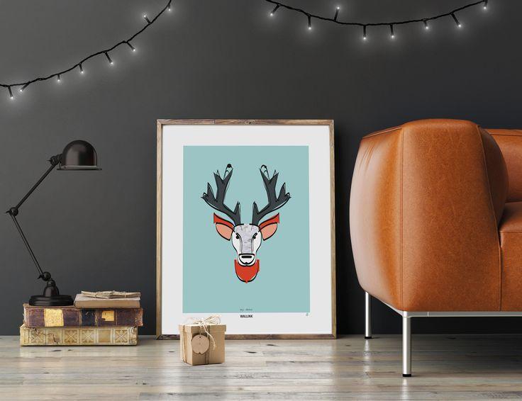 Vil du gerne give en personlig og unik julegave? Så er en plakat fra Wallink det helt rigtige valg. Vi har et stort udvalg i flotte og unikke plakatdesigns, som passer perfekt ind i den nordiske indretning. Hver plakat har sin egen personlighed og hver sin betydning. Du kan læse små beskrivelser af de forskellige plakater på www.wallink.dk. Bestil med ramme og vi indpakker gerne. Husk at du får et Wallink bogmærke med i købet. Perfekt som en lille ekstra gave. Gælder ved køb af mindst én…