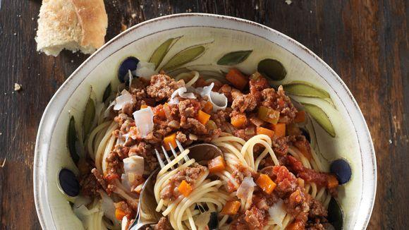 Spaghetti Classique à la Bolognaise