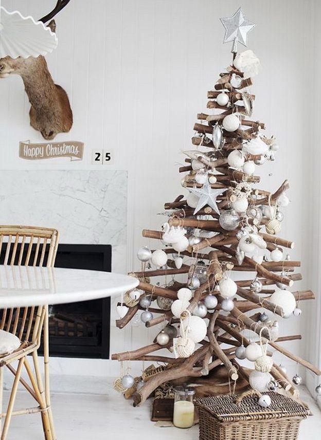 3D Bark Christmas Tree