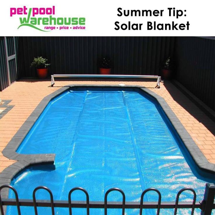 Pet Pool Warehouse Knysna Summer Tip: Solar Blanket: #Save water & electricity this summer when installing a solar blanket for your pool. This reduces evaporation, pump running time and will extend you swimming season! #swimmingpool #tips
