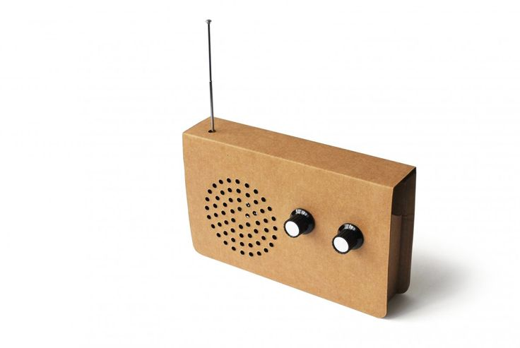 Card Radio, design by Christopher McNicholl