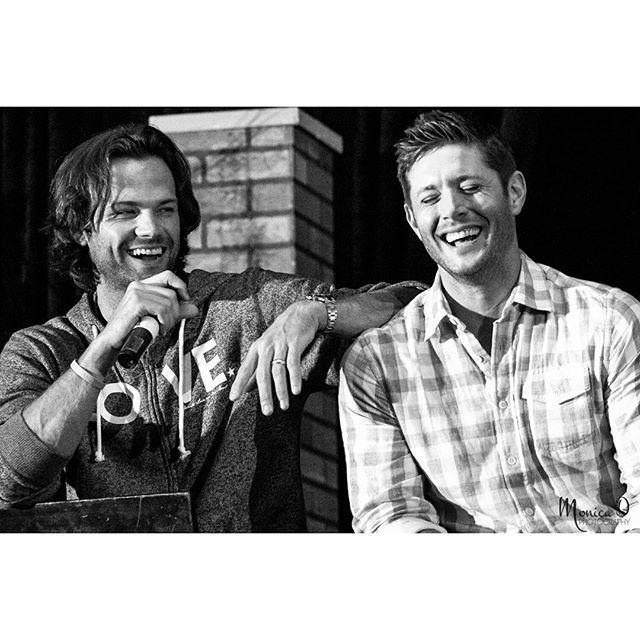 Jensen Ackles and Jared Padalecki