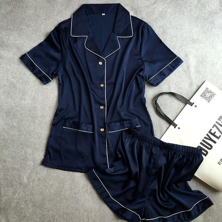 Lisacmvpnel D'été Nouveau Respirant Doux Femmes Pyjamas Rayonne Style Court Occasionnel Femelle Pyjama ensemble Twinset Femmes Vêtements De Nuit