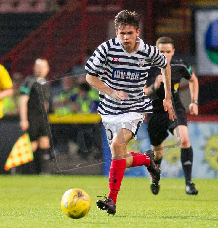 Queen's Park's Ewan MacPherson in action during the IRN-BRU Cup game between Partick Thistle Colts and Queen's Park.