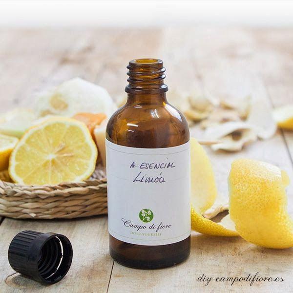 Cómo hacer un aceite esencial de limón | Vida Lúcida