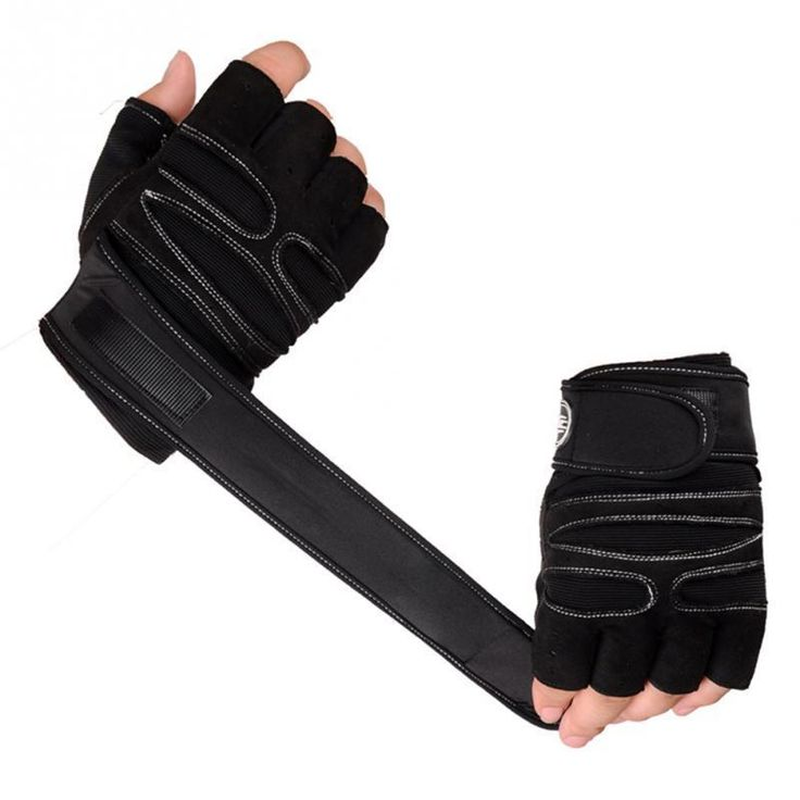 Crossfit Gloves Exercise Training Wrist Weight Lifting Gloves For Men Women New #Unbranded