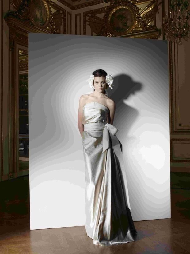 モードな花嫁に捧ぐ、ランバンのウェディングドレス「コレクション ブランシュ」/ウェディング/幸せの魔法/ファッション、ブランド、モードの情報満載「SPUR.JP」