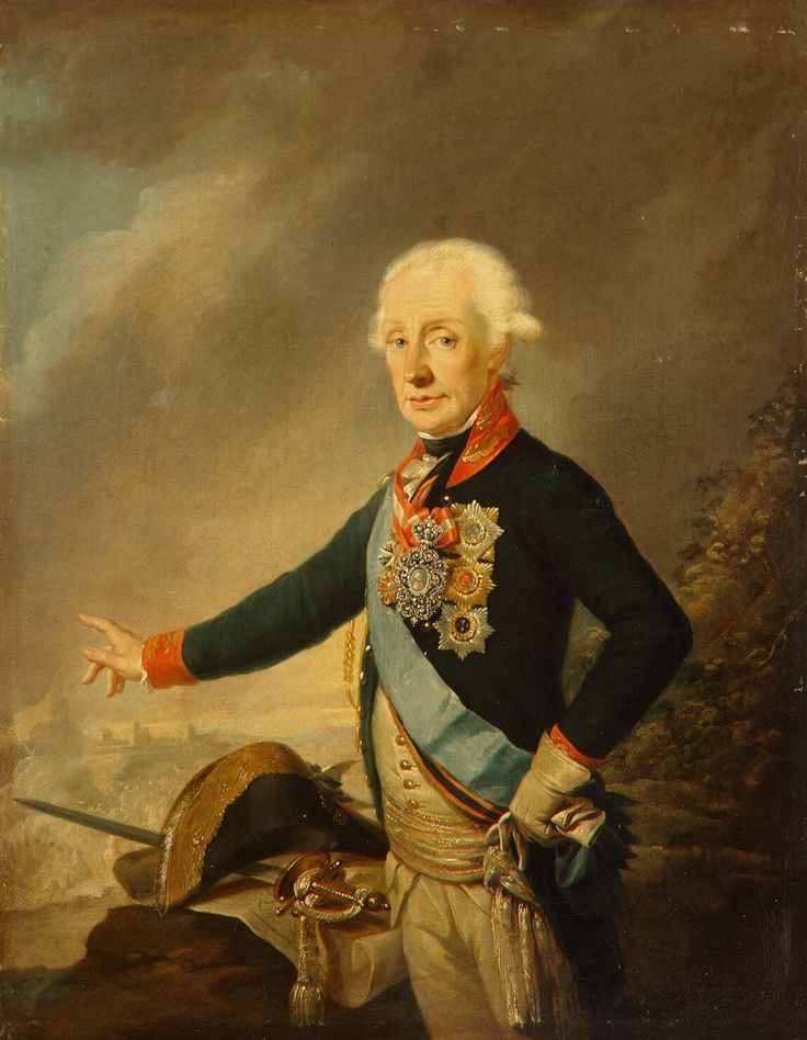Kreutzinger Joseph - Portrait of Count Alexander Suvorov