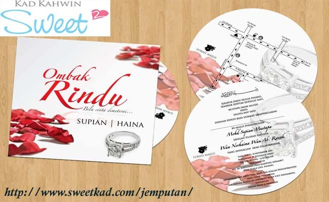 Sweet Kad S Free Kad Kahwin Malaysia Makers Help You Easily Create Your Own Custom Unique Most Of All Ins Wedding Card Design Wedding Cards Wedding Planning