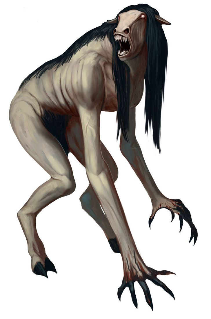 Tikbalang (also written as Tigbalang, Tigbalan, or Tikbalan) is a creature of Philippine folklore said to lurk in the mountains and forests of the Philippines. It is generally described as a tall, bony humanoid creature with disproportionately long limbs, to the point that its knees reach above its head when it squats down. It has the head and feet of an animal, most commonly a horse. It is sometimes believed to be a transformation of an aborted fetus which has been sent to earth from limbo.