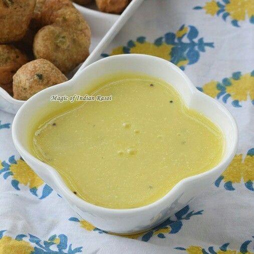 GUJARATI FARSAN KADHI RECIPE  Watch video: https://youtu.be/XqmFRUWzU7g  Read recipe: http://www.magicofindianrasoi.com/2017/07/gujarati-farsan-kadhi-recipe.html  #kadhi #farsan #chutney #farsan #snack #yummy #nomnom  #recipe #indianfood #IndianFoodBlogger #Indianfoodchannel #MagicofIndianRasoi #MOIR