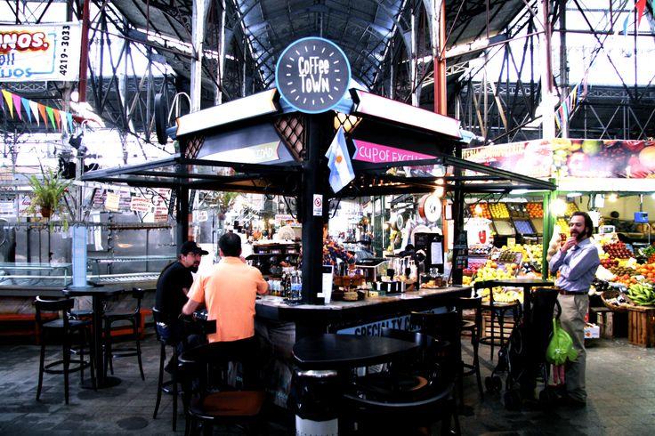 The Great San Telmo Coffee Hut: Coffee Town