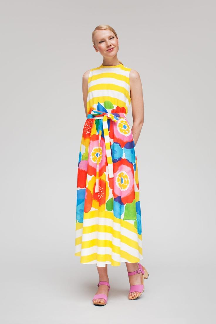Marimekko Dress | Color, Glorious Color