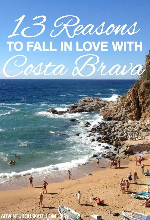 From beaches to cities, from jamon to tomatoes, Costa Brava is filled with so many treasures — and if you're anything like me, you'll fall in love with Costa Brava quickly. Here are 13 reasons to fall in love with Costa Brava.