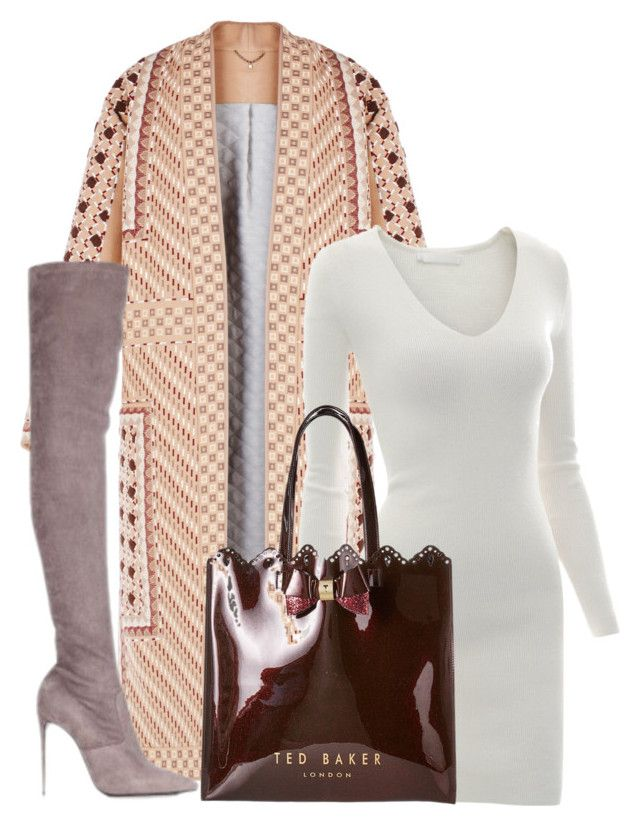 """""""Untitled #6517"""" by stylistbyair ❤ liked on Polyvore featuring BCBGMAXAZRIA, Doublju, Ted Baker and Le Silla"""