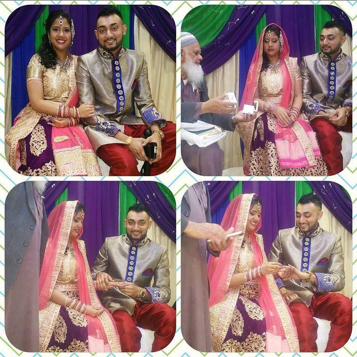 Our son engagement Quran Sharif  congratulations to Roshan &Alicia @alliiciia_xo @oceanmatthews by karenbali1169