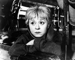 Its about these eyes..how they make me sad, but in nicely way (Giulietta Masina)