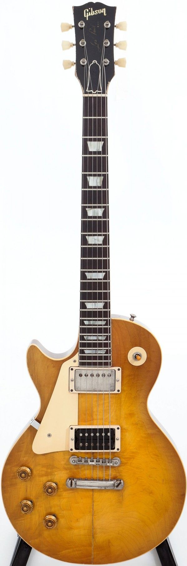 Extremely Rare 1959 Gibson Les Paul Standard Left-Handed Guitar.