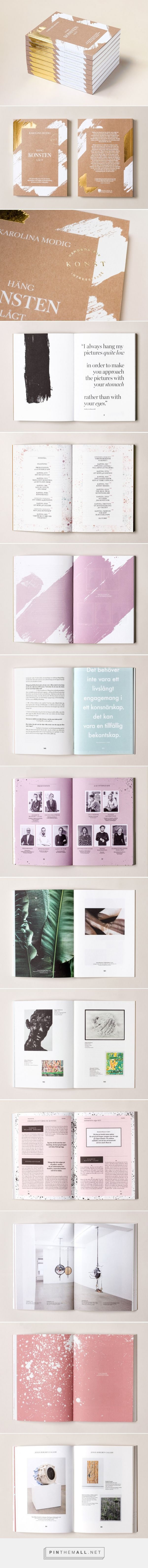 Hang Art Low: Book Design by Snask | Inspiration Grid | Design Inspiration... - a grouped images picture - Pin Them All