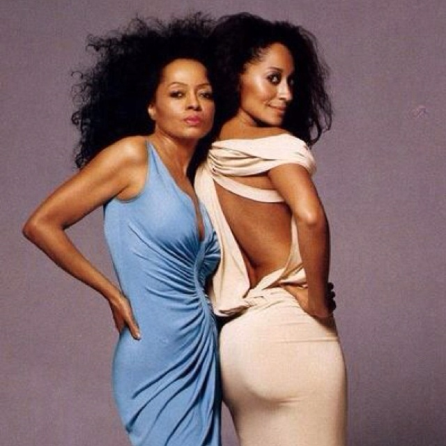 Diana Ross the BOSS & her daughter Tracey Ellis Ross