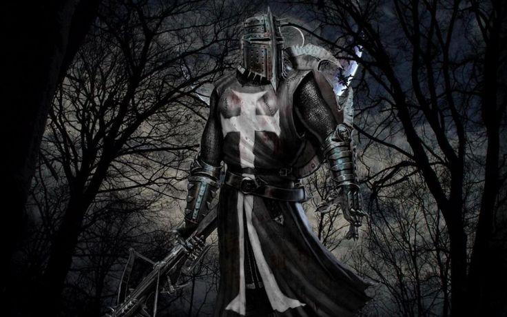 knightKnights Templar, Fantasy Knights, Black Knights, Medieval Fantasy, Fantasy Art, Fallen Angels, Dark Fantasy, The Dark, Medieval Knights