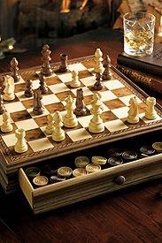 Chess/Checkers Set Eddie Bauer $129.00