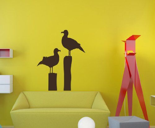 67 best Birds Wall Decals images on Pinterest   Vinyl decals, Wall ...