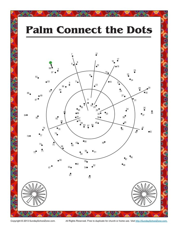 Connect the Dots Bible Coloring Pages on Sunday School Zone