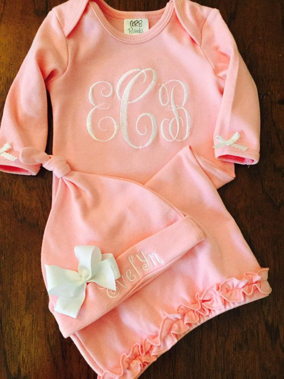 Custom order for Cindy Newborn Girl Take Home by DaintyBoTeek