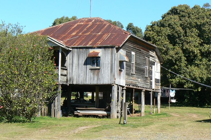 Old Queenslander house