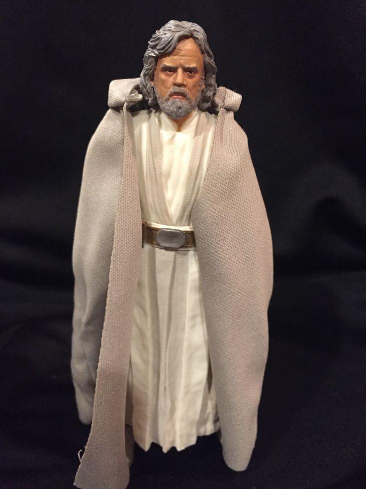 Luke Skywalker Star Wars Black Series Custom Repaint Action Figure